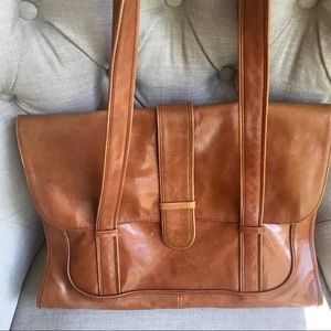 Kenneth Cole New York leather bag